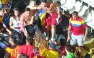 Cum arata cei doi barbati care au batut-o pe iubita lui Cristi Manea dupa Romania - Franta 0-0! Unul dintre agresori a fost retinut, iar politia italiana desfasoara o ancheta