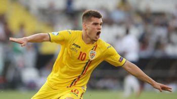 """Ianis Hagi, elogiat in presa germana: """"Viitorul de aur al Romaniei"""" Cuvinte SUPERBE pentru starul Romaniei U21"""
