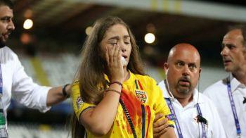 Cum arata iubita lui Cristi Manea dupa ce a fost lovita de suporteri! Imagini incredibile. FOTO