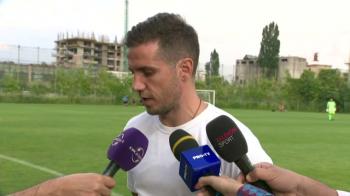 """Am avut emotii, recunosc!"" Momente frumoase pentru Alex Chipciu inainte de SR Brasov - FCSB! Ce a spus despre performanta Romaniei U21"