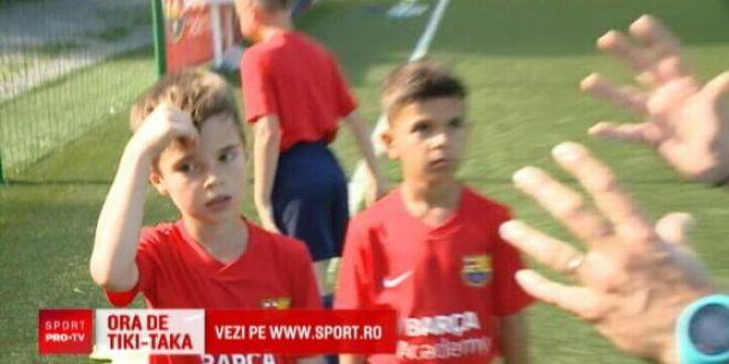 Barcelona si-a trimis antrenorii la Cluj si Bucuresti ca sa-l gaseasca pe noul Messi!