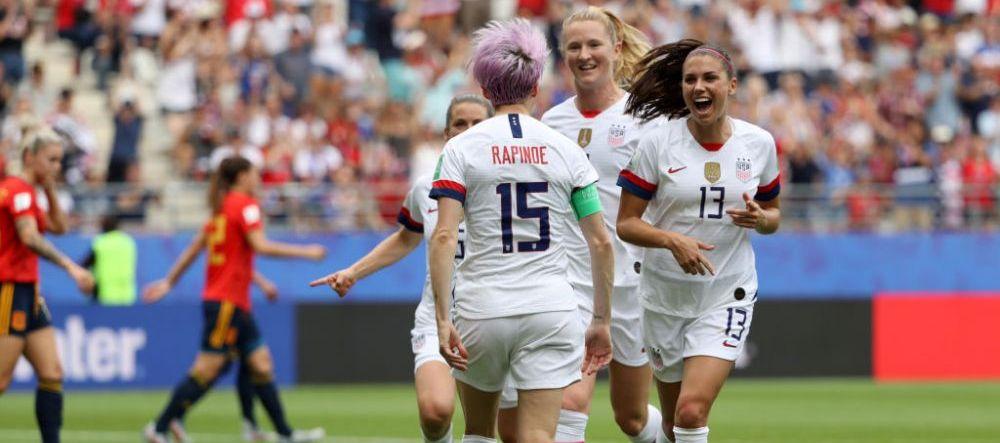 """O vedeta din nationala SUA de fotbal feminin acuzata de Donald Trump ca nu canta imnul la meciuri! Reactia fotbalistei: """"Este misogin si rasist"""""""