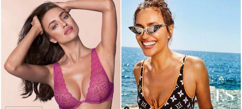 Ce a pierdut Ronaldo! Irina Shayk, declarata cel mai sexy model in costum de baie. FOTO INCENDIAR