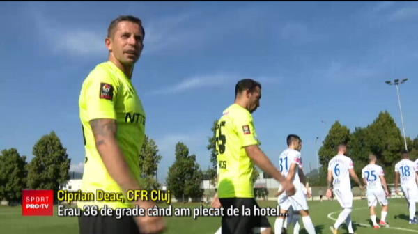 CFR Cluj 2-1 Osijek   Nu doar nationala de tineret are probleme cu caldura! CFR a fugit de canicula din Romania, dar a dat de temperaturi la fel de mari la amicale