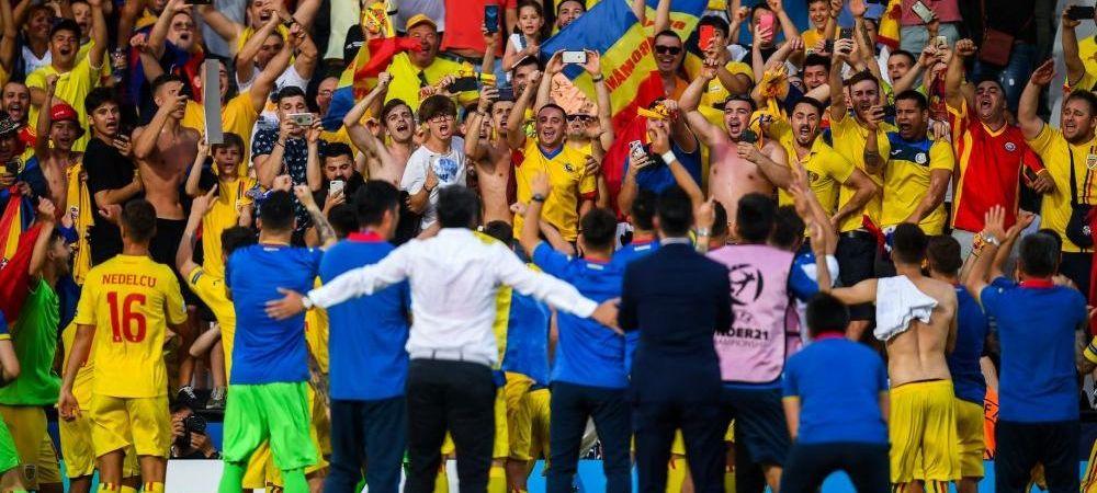 FANTASTIC! Un MUNTE DE SPIRIT si inima pentru Romania! Record NATIONAL: 20 000 de romani la semifinala cu Germania. Meciul Romaniei intra in ISTORIE