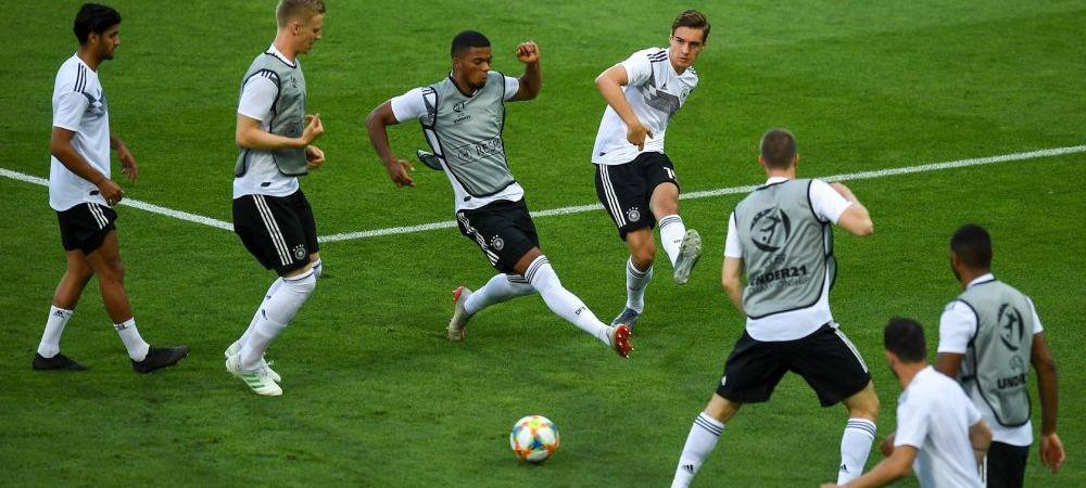 """ROMANIA - GERMANIA la EURO U21   Bine ca nu joaca banii! Lotul Germaniei e de peste 5 ori mai scump decat al Romaniei! Cruyff: """"N-am vazut pana acum un sac de bani care sa dea gol"""""""