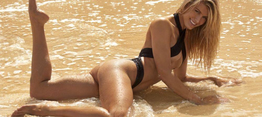 APARITIE ILEGALA a lui Genie Bouchard la Wimbledon! Canadianca a incalcat regulamentele si si-a luat un costum mega-sexy de Catwoman: GALERIE FOTO