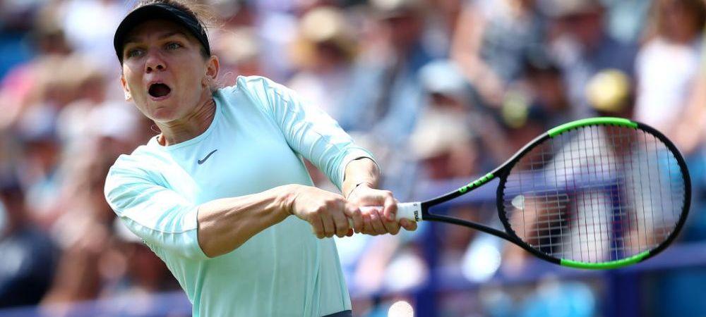 SIMONA HALEP - ANGELIQUE KERBER 4-6, 3-6   Simona e OUT de la Eastbourne si trebuie sa isi revina rapid pentru Wimbledon. Kerber a facut un meci perfect!