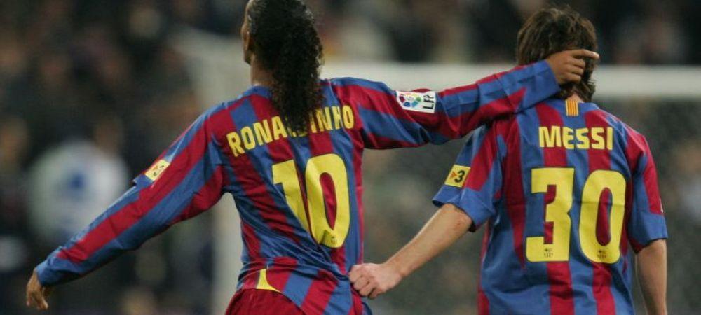 """""""Ronaldinho si Deco veneau beti la antrenament! Stiti de ce a scapat Barcelona de ei?!"""" Dezvaluire incredibila a unui fotbalist care a jucat cu cei doi la Barcelona"""