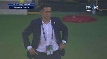 """ROMANIA - GERMANIA U21: """"Trage-l de tricou!"""" Radoi, FURIOS dupa golul nemtilor. Pe cine a certat"""