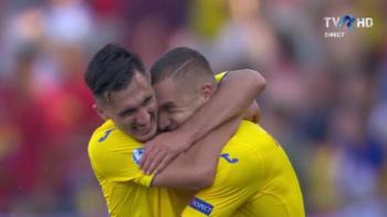 ROMANIA - GERMANIA U21 | Ivan si Ianis, MAGISTRALI! Pase U-LU-I-TOA-RE pentru golul doi al lui Puscas!