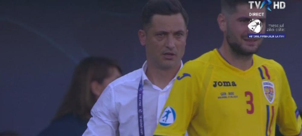 ROMANIA - GERMANIA U21 | Radoi si Stefan, FAZA ZILEI in pauza de hidratare! Ce a facut selectionerul. FOTO