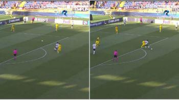 ROMANIA - GERMANIA U21: Imaginile care il CONTRAZIC pe arbitru! Ce s-a intamplat la faza penalty-ului pentru nemti. FOTO