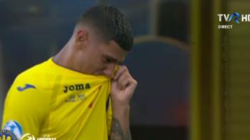 ROMANIA - GERMANIA 2-4 EURO U21 | Florinel Coman, in lacrimi la finalul partidei! Imagini dureroase surprinse dupa fluierul de final