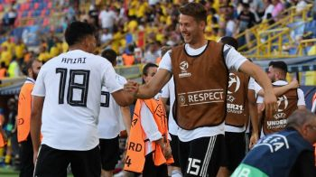 """ROMANIA - GERMANIA 2-4: """"Sprint final spre FINALA!"""" Nemtii exlulta dupa rasturnarea fabuloasa de scor! Cum au reactionat"""
