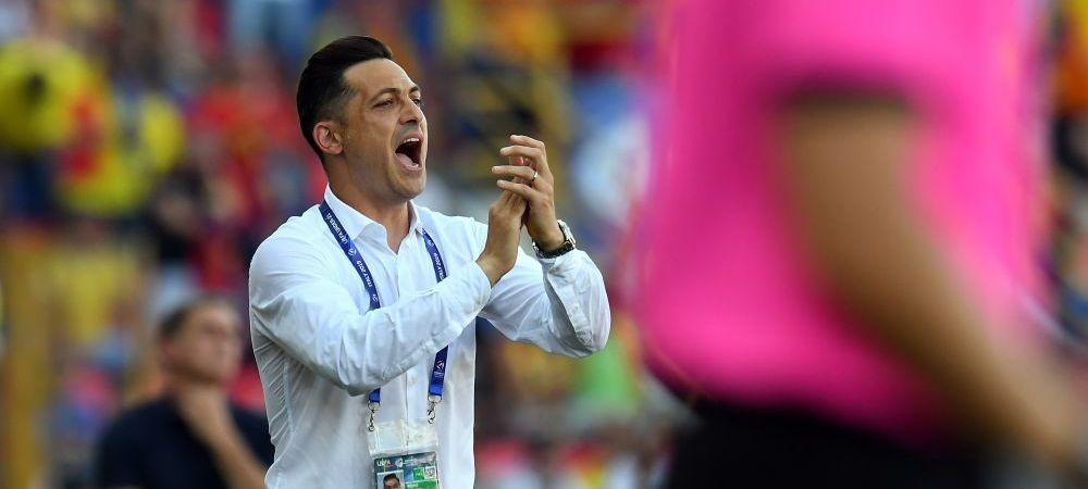 """ROMANIA - GERMANIA 2-4: Mirel Radoi, prima reactie dupa ratarea finalei: """"Doua momente au decis meciul"""" Ce spune despre penalty-ul primit de nemti"""