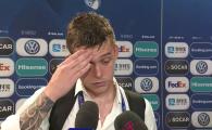 """ROMANIA - GERMANIA 2-4: Cicaldau, cel mai TRIST tricolor: """"Nu a fost penalty, nici nu ma pot bucura!"""" VIDEO"""