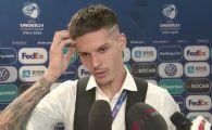 """EURO 2019: Dennis Man, dezamagit dupa ratarea finalei: """"Am plans la vestiar!"""" VIDEO"""
