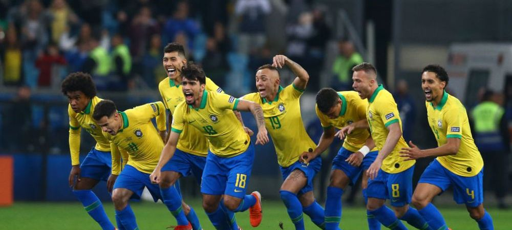 Brazilia e prima semifinalista de la Copa America! Calificare de infarct la loviturile de la 11 metri, contra Paraguayului! Ce jucatori au ratat: VIDEO