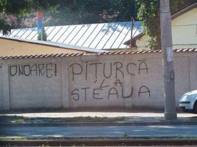 "Razboi intre MApN si ultrasii care o sustin pe CSA Steaua! ""Instigare la ura, actele de vandalism intra sub incidenta legilor penale"" vs. ""Demisia, ma!"""