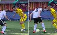 "ROMANIA - GERMANIA: ""Andrei Ivan, SKILL of the day!"" Cum si-a umilit un adversar din Bundesliga in semifinala EURO U21! VIDEO"