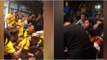 Ce FINAL de EURO U21! Jucatorii Romaniei, in GENUNCHI alaturi de fani in miez de noapte! Imagini de colectie. VIDEO