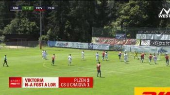 Craiova, fara victorie in amicale! Au pierdut ultimul meci cu Viktoria Plzen