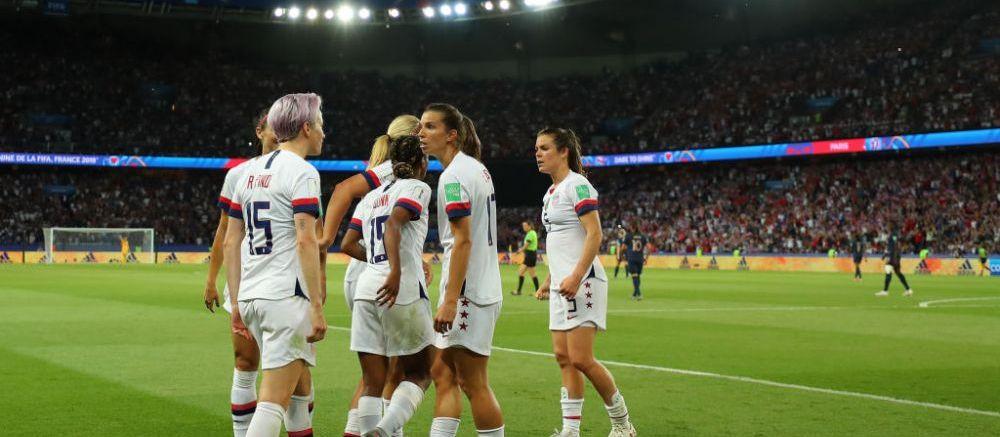 SUA tot mai aproape de un nou titlu de Campioana Mondiala! Victorie grea in fata Frantei! Rapinoe a reusit o dubla