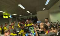 """IMAGINILE ANULUI: Ce s-a intamplat noaptea trecuta pe Aeroportul Otopeni la sosirea nationalei U21! """"Raduleee, Dumnezeu esti, ma!"""" VIDEO"""