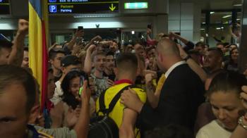 "VIDEO: Momentul in care tot aeroportul striga ""Hagi, Hagi, Hagi!"" Ianis, emotionat: ""Acum imi dau seama ce am realizat! Asta e doar inceputul!"""