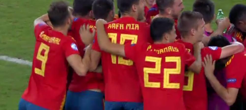 SPANIA - GERMANIA 2-1 | Spania este noua campioana europeana U21! Ibericii si-au luat revansa pentru finala pierduta in 2019!