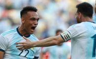 Barcelona pregateste 112.000.000 euro pentru colegul lui Messi din atacul Argentinei la Copa America! Acesta a dat golul calificarii in semifinale!