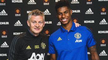 Marcus Rashford, contract nou la Manchester United! Salariul ASTRONOMIC primit la 21 de ani!