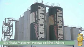 (P) Berea Albacher Premium 0,66l premiata cu aur de Monde Selection