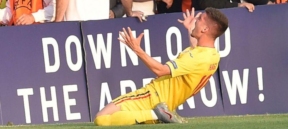 Ianis Hagi a vorbit despre momentul care a intors semifinala de la EURO U21! Ce i-a spus arbitrul la faza in care a dictat penalty pentru Germania