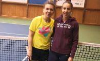 """Ce spune Mihaela Buzarnescu despre duelul cu Simona Halep de la Wimbledon 2019: """"E un meci asteptat!"""""""