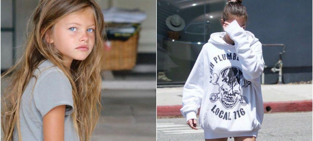 "Cum a ajuns sa arate ""cea mai frumoasa fata din lume"" la 18 ani. E fiica unui fotbalist celebru. FOTO"