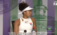 """Vreau sa plec, imi vine sa plang!"" Naomi Osaka a cedat la conferinta, dupa ce a fost eliminata in primul tur la Wimbledon! VIDEO"