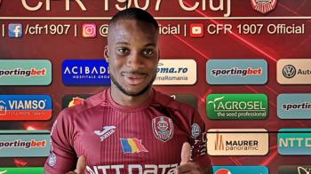 OFICIAL   CFR si-a prezentat jucatorul care a jucat la Aston Villa si Rennes