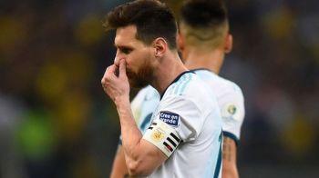 Brazilia l-a facut pe Messi sa planga! Coutinho si Firmino au batut Argentina si vor juca finala Copa America; Messi a ratat iar sansa unui trofeu cu nationala