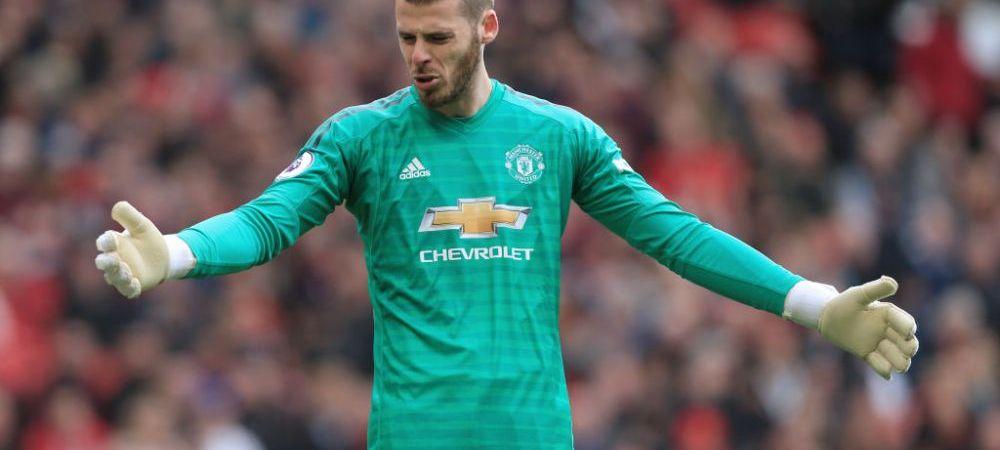 Ar putea fi cel mai bine platit portar din lume! Oferta incredibila a lui Manchester United pentru a-l pastra pe De Gea! Ce salariu va incasa