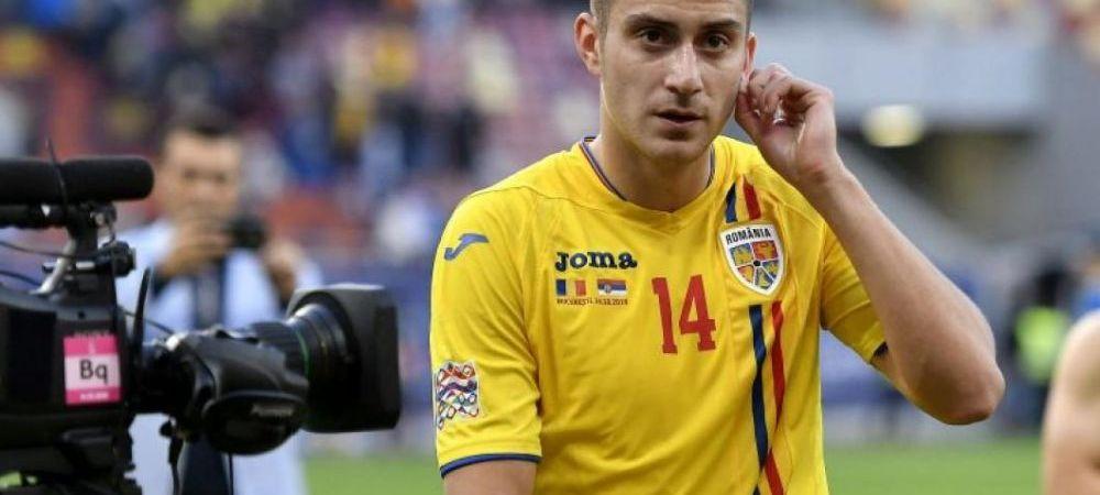 Unul dintre cei mai buni jucatori ai Romaniei la EURO U21 poate ajunge la AS ROMA! Clubul insista pentru transfer