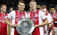 """Juventus, oferta """"low-cost"""" pentru De Ligt, dupa ce s-a inteles cu jucatorul! Cati bani ajung la Ajax"""