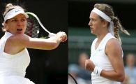 "SIMONA HALEP - VICTORIA AZARENKA: ""Va trebui sa lucrez putin la asta!"" Ce spune Simona despre duelul de la Wimbledon"