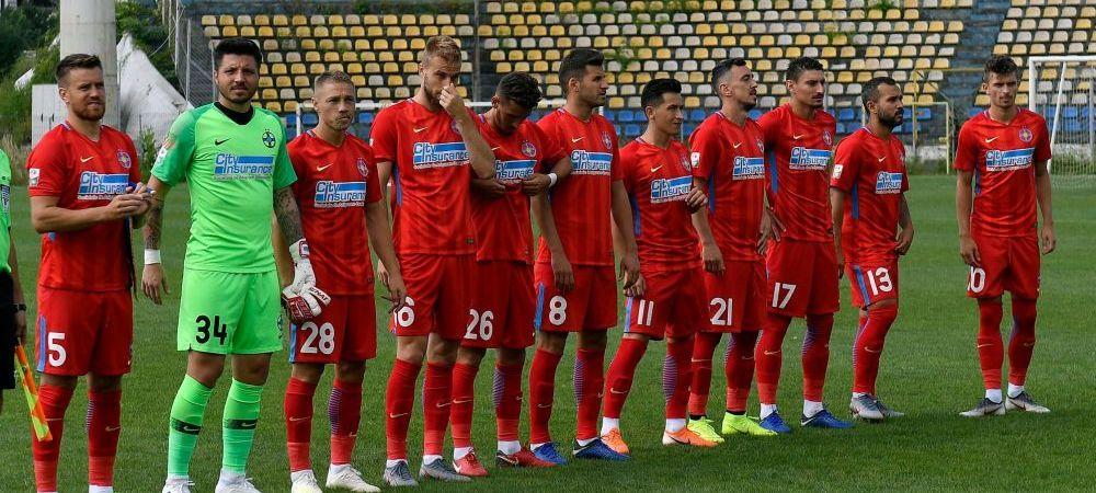 FCSB - CS MIOVENI 1-0 | Ros-albastrii s-au chinuit cu o echipa de liga a doua in ultimul amical al verii inaintea debutului european! Tanase a marcat din penalty