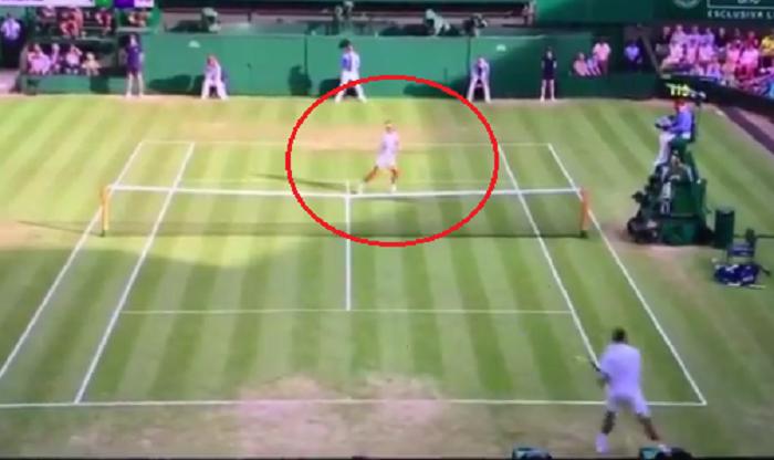 Faza incredibila la Wimbledon: Kyrgios il loveste intentionat pe Nadal si nu isi cere scuze!