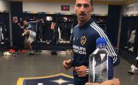 Nu are cum sa rateze provocarea asta! :) Cum desface dopul sticlei Zlatan Ibrahimovici VIDEO