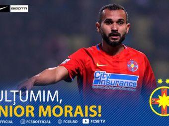 OFICIAL   FCSB s-a despartit de Junior Morais! Brazilianul a plecat langa Sumudica, la Gaziantep