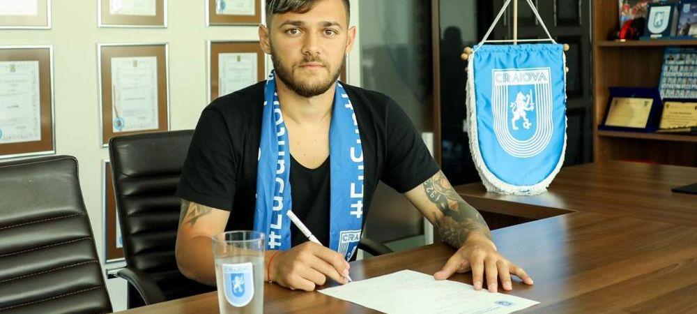 """Alex Ionita, prezentat oficial la Universitatea Craiova: """"Ar fi un vis sa iau titlul aici"""" Ce clauza are in contract"""