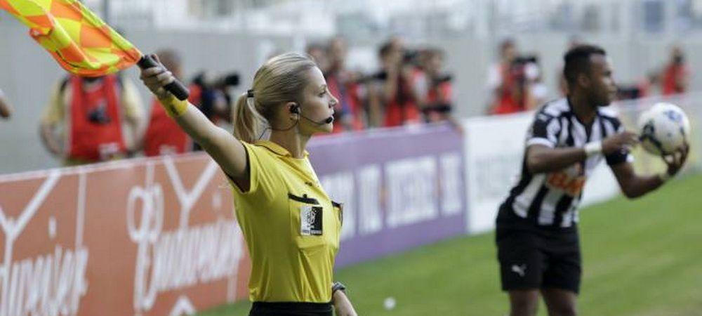 "Cum arata arbitra care a renuntat la fotbal pentru ca e prea frumoasa: ""Nu eram luata in serios"" FOTO"